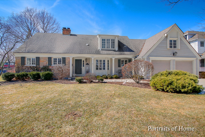 Glen Ellyn Single Family Home For Sale: 730 Highland Avenue