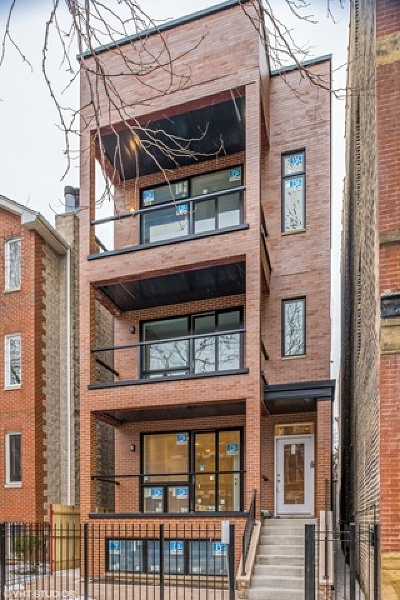 Condo/Townhouse New: 1448 West Erie Street #1
