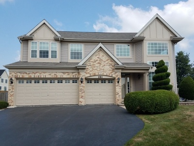 West Chicago  Single Family Home For Sale: 181 Heritage Woods Drive
