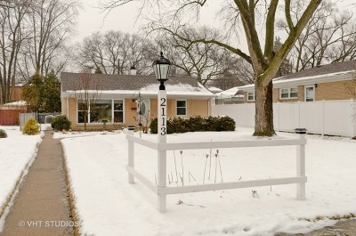 Evanston IL Single Family Home New: $259,000