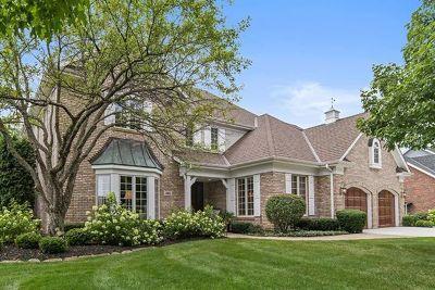Burr Ridge Single Family Home Price Change: 480 60th Place