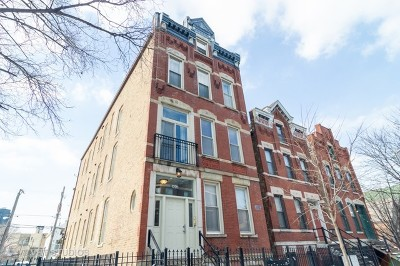 Condo/Townhouse For Sale: 1226 North Greenview Avenue #1F