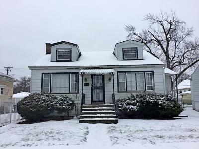 Calumet Park Single Family Home For Sale: 12317 South Elizabeth Street
