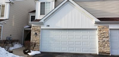 Streamwood Condo/Townhouse For Sale: 108 Cambridge Avenue