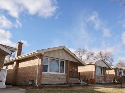 Bellwood Single Family Home New: 614 Rice Avenue