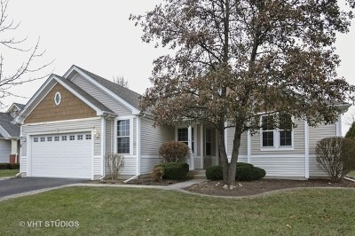 Huntley Single Family Home New: 13020 Coventry Lane