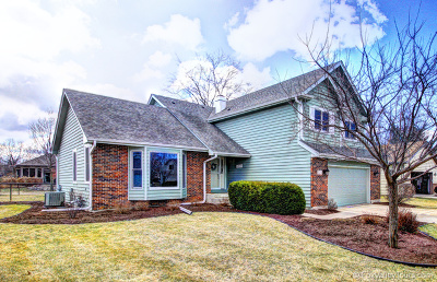 Oswego Single Family Home Price Change: 320 Stoneleigh Lane