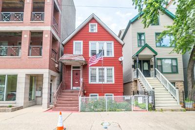Multi Family Home For Sale: 1810 West Belmont Avenue