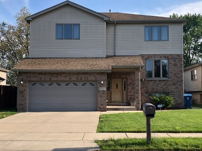 Alsip Single Family Home For Sale: 3617 West Nuala Lane