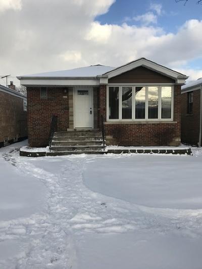 Chicago Single Family Home New: 5147 South New England Avenue