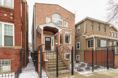 Chicago Single Family Home New: 2818 West Wellington Avenue
