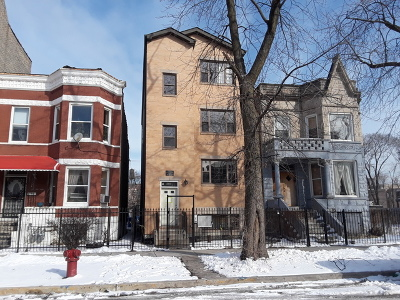 Chicago Multi Family Home New: 4128 West Wilcox Street