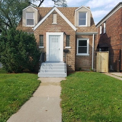 Chicago Single Family Home New: 9430 South Wentworth Avenue