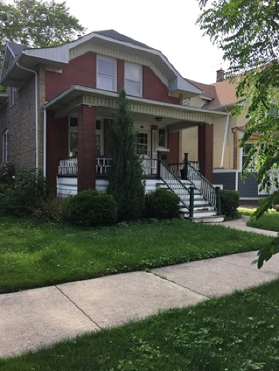Oak Park Single Family Home Re-Activated: 835 South Taylor Avenue