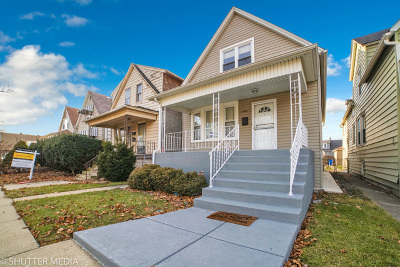 Chicago IL Single Family Home New: $149,800