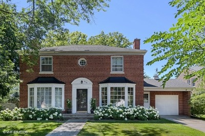 Glenview Single Family Home New: 838 Indian Road