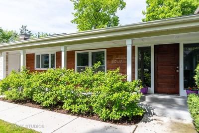 Highland Park Single Family Home New: 1267 Sheridan Road