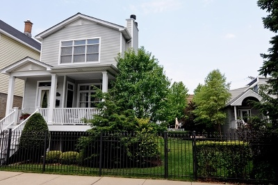 Single Family Home For Sale: 1744 West Newport Avenue