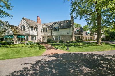 Flossmoor Single Family Home For Sale: 2425 Dundonald Road