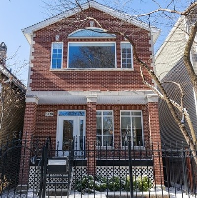 Single Family Home For Sale: 3928 North Hermitage Avenue