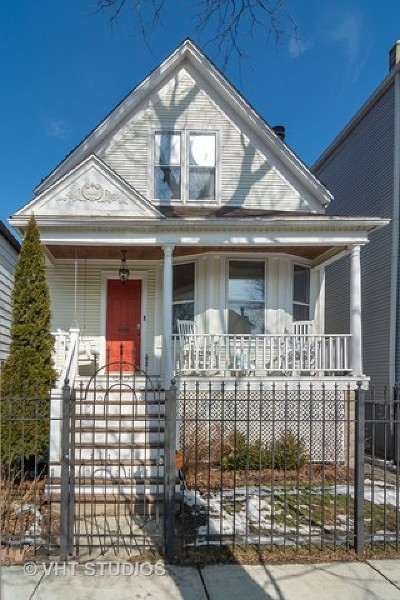 Chicago Single Family Home For Sale: 1918 West Fletcher Street