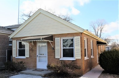 Chicago Single Family Home Re-Activated: 9818 South Harvard Avenue