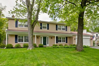 Lake Forest Single Family Home For Sale: 1360 Burr Oak Road