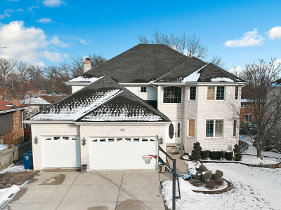 Palos Heights, Palos Hills Single Family Home Contingent: 10123 South 86th Court