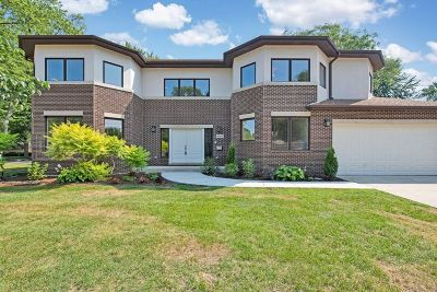 Skokie Single Family Home For Sale: 4137 Emerson Street