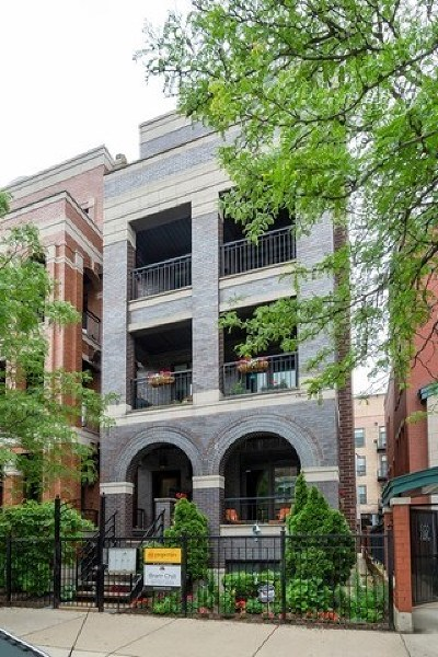 Condo/Townhouse For Sale: 1051 West Monroe Street #4