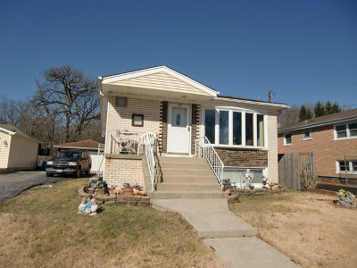 Oak Forest Single Family Home For Sale: 16138 Grove Avenue