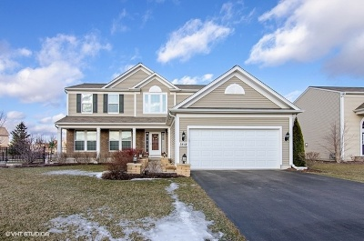 Carpentersville Single Family Home Contingent: 3518 Crestwood Lane