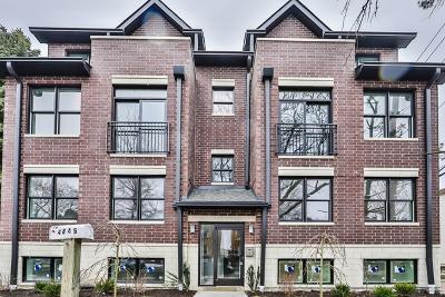 Condo/Townhouse For Sale: 4845 North Keystone Avenue #2N