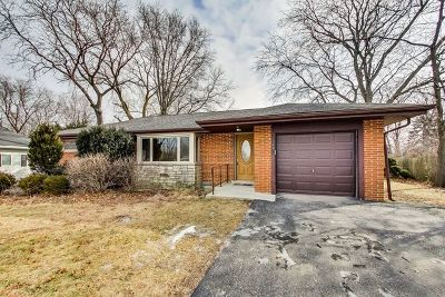 Downers Grove Single Family Home For Sale: 4211 Northcott Avenue