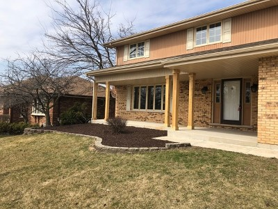 Orland Park Single Family Home For Sale: 11838 California Trail