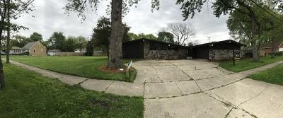 Oak Lawn Single Family Home For Sale: 10227 South Kostner Avenue