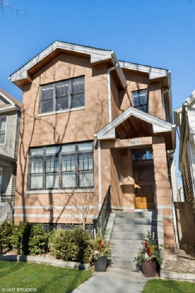Single Family Home For Sale: 2456 West Cullom Avenue