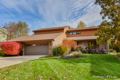 Downers Grove Single Family Home For Sale: 5933 Hillcrest Court