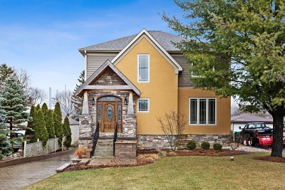 Burr Ridge Single Family Home New: 8s041 South Vine Street