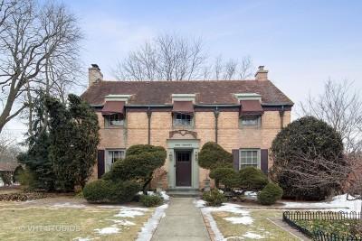 Wheaton Single Family Home For Sale: 120 South President Street