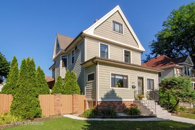 Forest Park Single Family Home For Sale: 505 Marengo Avenue