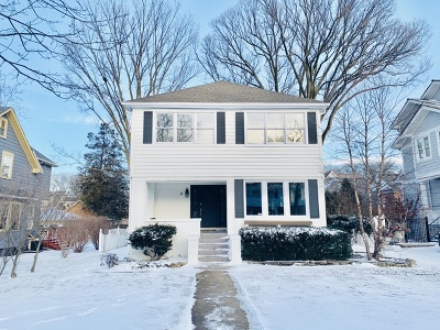 Hinsdale Single Family Home Price Change: 9 South Bruner Street