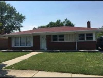 South Holland Single Family Home For Sale: 16628 School Street