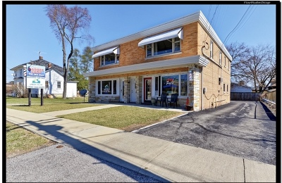 Tinley Park, Orland Park Commercial For Sale: 17451 Oak Park Avenue