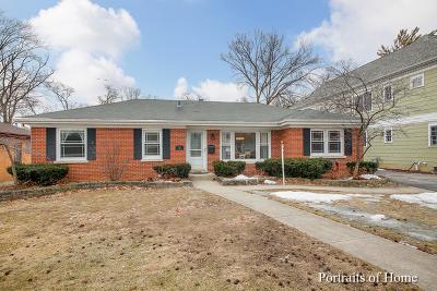 Elmhurst Single Family Home Price Change: 461 West Alexander Boulevard