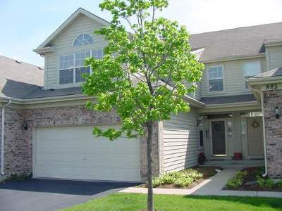 Naperville Condo/Townhouse For Sale: 887 Havenshire Road #887