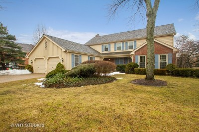 Glenview Single Family Home For Sale: 2535 Indian Ridge Drive