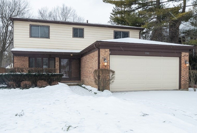 Highland Park Single Family Home For Sale: 1340 Deerfield Court