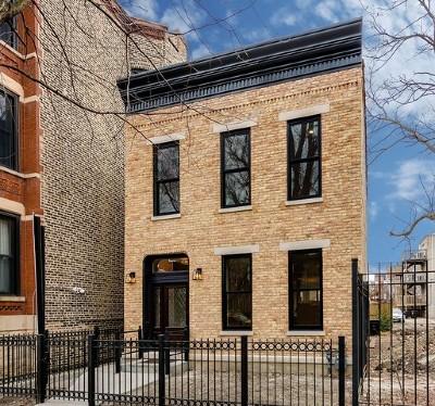 Single Family Home For Sale: 1328 North Wicker Park Avenue