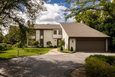 Glenview Single Family Home For Sale: 1037 Woodland Drive